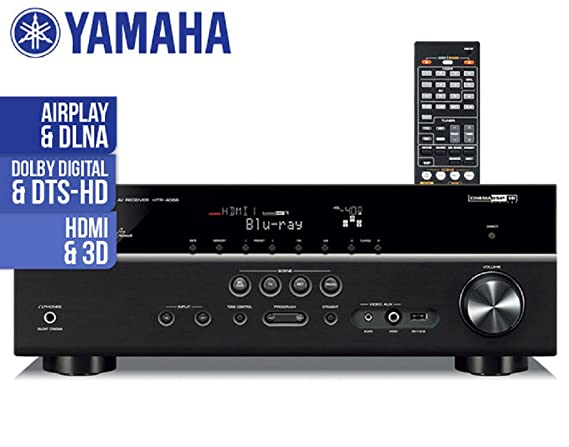 Amazon.com: Yamaha HTR-4065 Factory Refurbished 5.1-Channel Network AV Receiver with Airplay: Home Audio & Theater