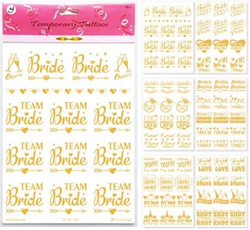 Bachelorette Party Flash Tattoos Decorations product image
