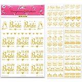 77 Bride & Bachelorette Party Bridal Tattoos - Team Bride Squad Bride Tribe