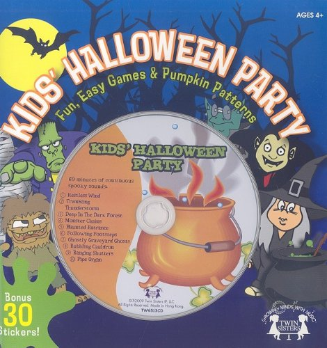 Download Kids' Halloween Party: Fun, Easy Games & Pumpkin Patterns (Twin Sisters Productions: Growing Minds with Music) pdf