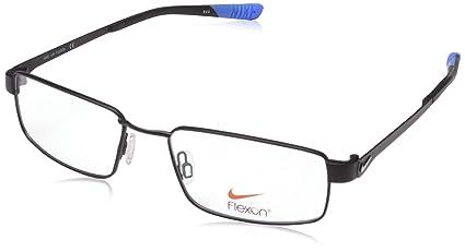 98facfa3cca Amazon.com  Eyeglasses NIKE 4270 007 SATIN BLACK-PHOTO BLUE  Sports ...