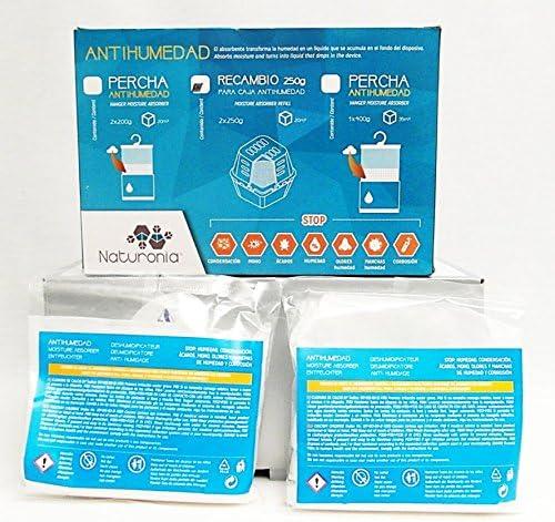 Naturonia Pack Recambio CLASSIC Antihumedad, 2x250g: Amazon.es: Hogar