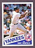 Dave Winfield 1985 Topps (Hall Of Famer) (Padres) (Yankees)