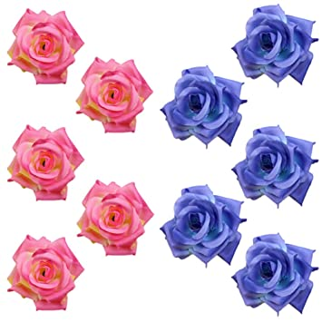 10x Toruiwa Kunstblumen Kunstliche Deko Blumen Kleine Blume Mini