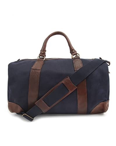 d82ed197e473 POLO Ralph Lauren - Overnight Bags - Men - Canvas and Leather Navy Blue  Weekend Bag for men - TU  Amazon.co.uk  Shoes   Bags