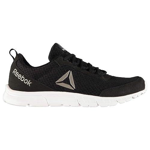 Reebok Hombre Quick Motion Zapatillas Deportivas Negro/Lima EU 44.5 (UK 10): Amazon.es: Zapatos y complementos