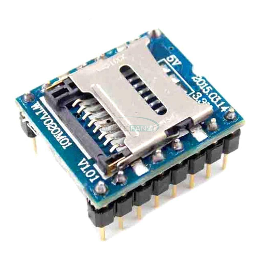 WTV020 WTV020-SD WTV020SD-20SS Mini SD Card MP3 Sound Module