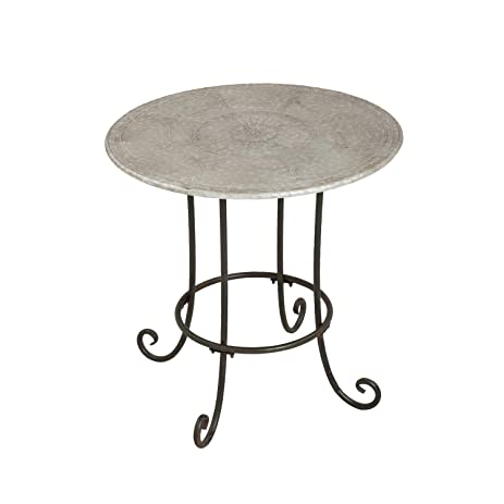 Amazoncom Cape Craftsmen Medallion Bistro Outdoor Safe Inch - 30 inch round outdoor table