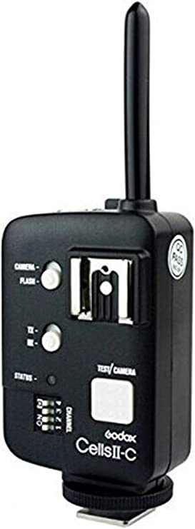Remote Triggers,Y/&M TM Witstro Ad180 V860c V860n Ad360 Godox Cells II All-in-One High Speed Remote Wireless Control Flash Transmitter Trigger for Canon DRSL Camera Conect Neewer//Godox V850