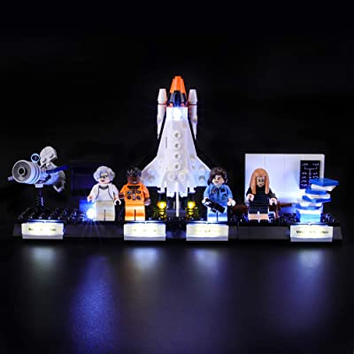 BRIKSMAX Led Lighting Kit for Ideas Women of NASA - Compatible with Lego 21312 Building Blocks Model- Not Include The Lego Set: Toys & Games