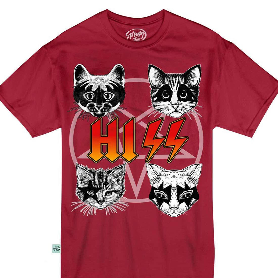 Cats Rock And Roll Heavy Metal Music Satan Funny Cute Shirts
