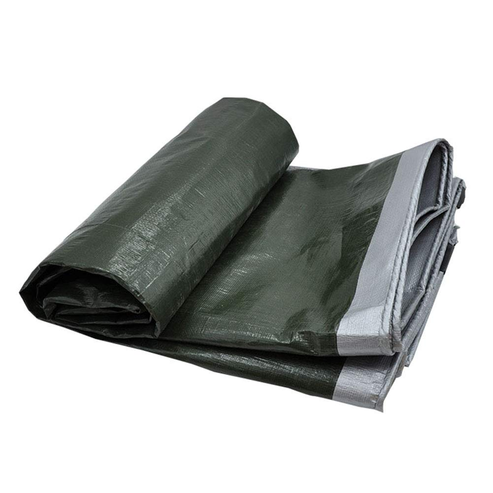YAGEER zhangpeng Panno Impermeabile di plastica Antipioggia Impermeabile Esterno Parasole telone Impermeabile telone Tenda Panno 180 g   m2 (Dimensioni   3m x 5m)