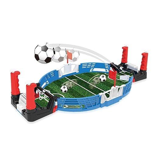 Hamkaw - Juego de Mesa para futbolín de Mesa para niños, 45 x 22,5 ...