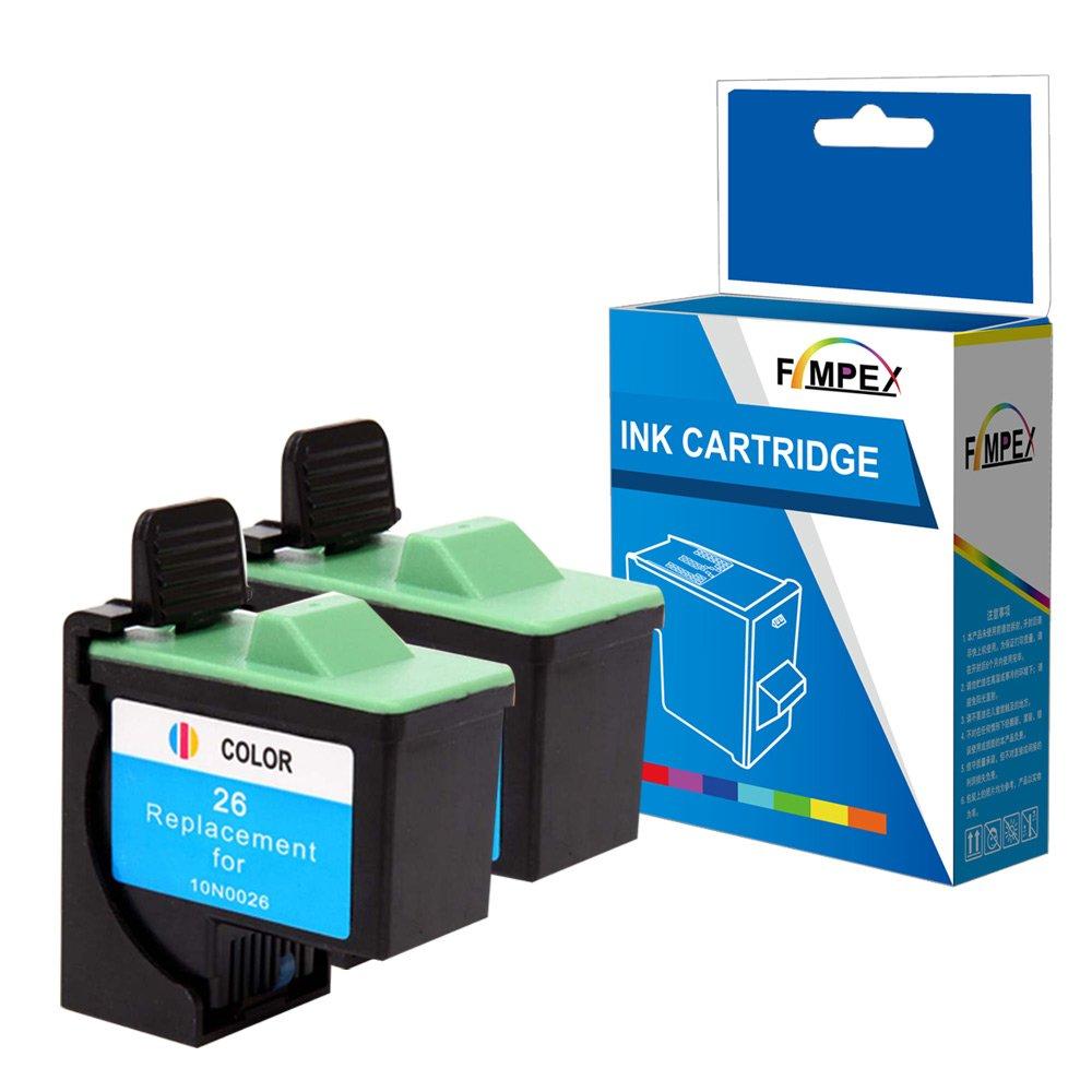 Fimpex Remanufacturado Tinta Cartucho Reemplazo para Lexmark i3 ...