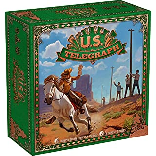 Super Meeple U.S. Telegraph Board Game