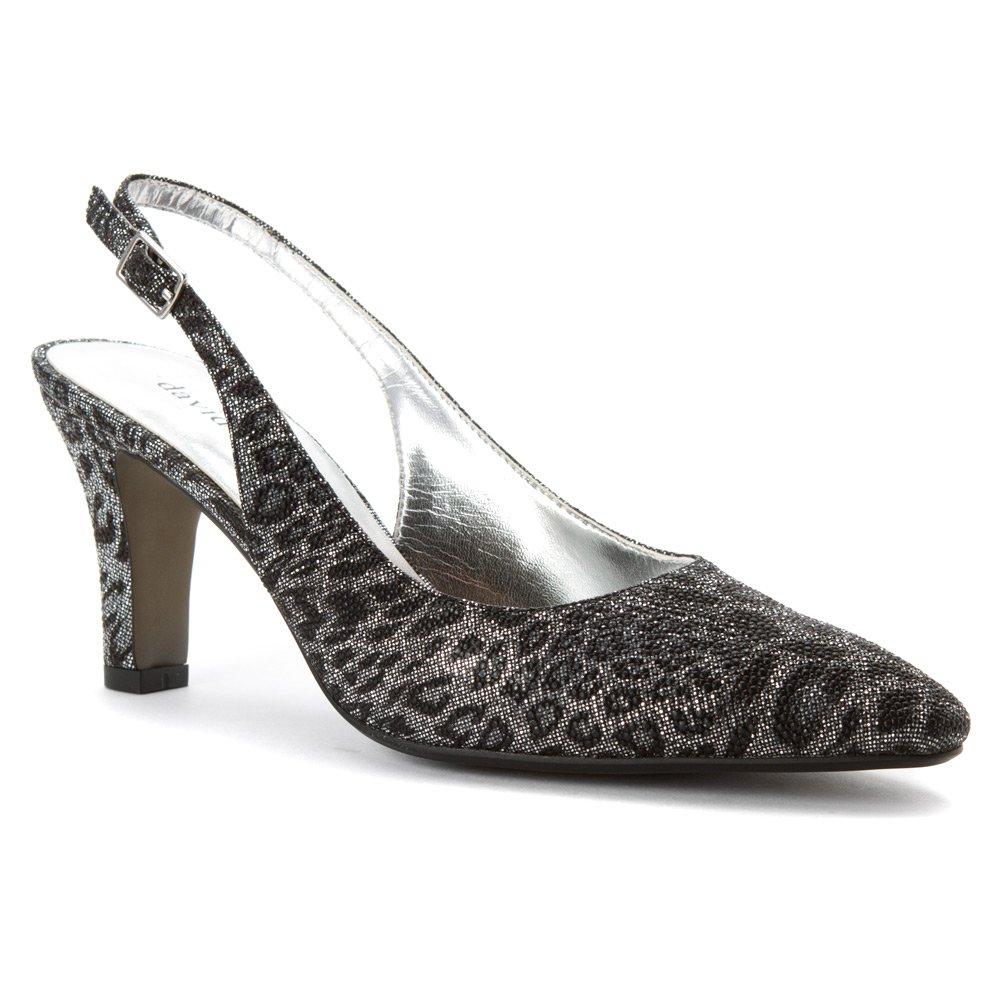 David Tate Women's Lace Shoe B00T3ISPG6 6 B(M) US|Black Leopard