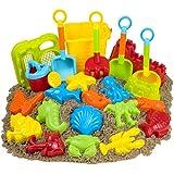 23pc Kids Beach Toys Set, Sandbox Toys; Sand Toys