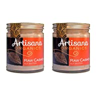 Artisana Organics - Cashew Butter, Certified Organic, RAW and non-GMO, No Added Sugar or Oil, Rich and Creamy (8 oz)   2-Pack