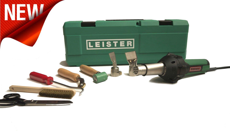 Leister pistola de aire caliente Triac St para tejados Kit - 230 V: Amazon.es: Electrónica