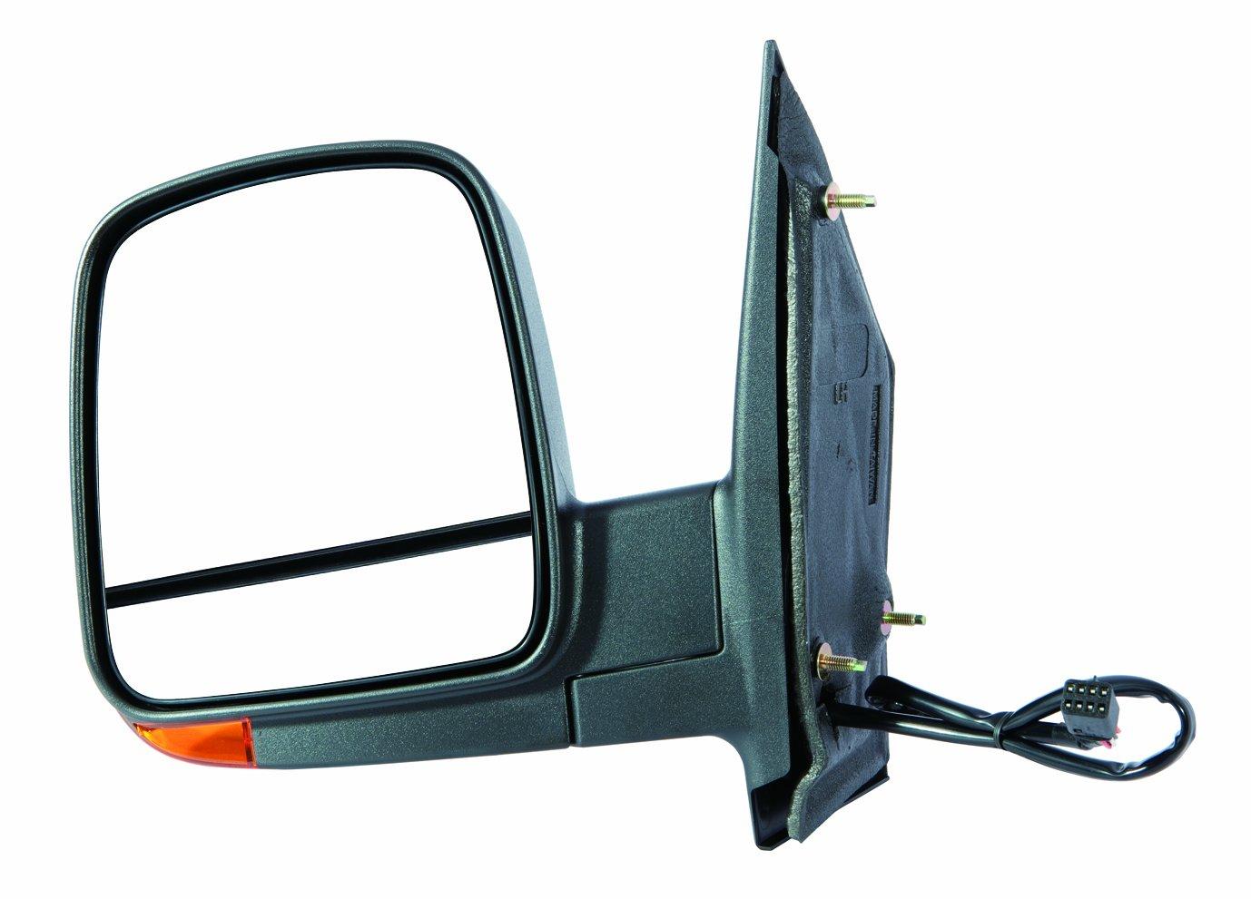 Depo 335-5429R3EFH2 Chevy Express//GMC Savana Passenger Side Textured Heated Power Mirror with Turn Signal