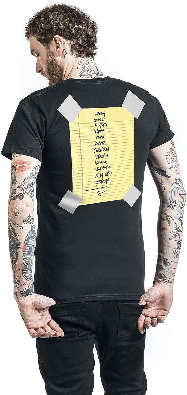 Pearl Jam Stickman T-Shirt schwarz L