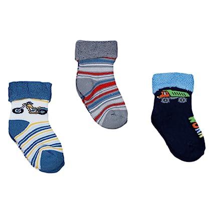 Bebé pega calcetines termo terry para niños 3-unidades conjunto de koala Gr, s