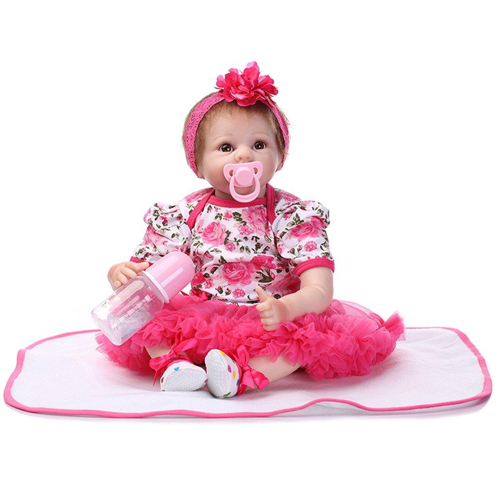 """tienda de descuento Terabithia 22"""" Naughty Alive Sonriente Cinta Rose Sofflower Lifelike Reborn Reborn Reborn Baby Dolls  venta"""