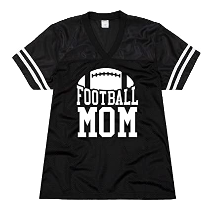 Image Unavailable. Image not available for. Color  Customized Girl Jersey  for Football Mom  Ladies Relaxed ... 71208fdb7