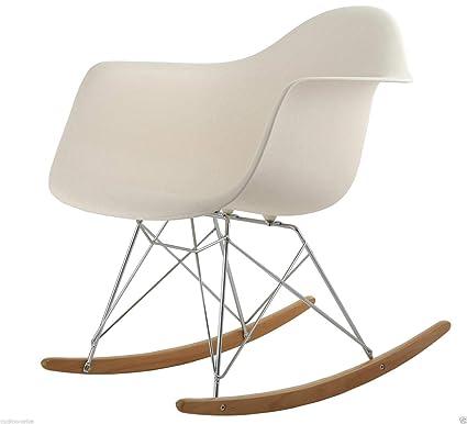 Amazing Costello Retro Rocking Rocker Lounge Leisure Chair Outdoor Sun Patio Garden Seat Plastic Office Tulip Charles And Ray Eames Style Modern Rar Tub Inzonedesignstudio Interior Chair Design Inzonedesignstudiocom