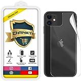 Película de Gel Silicone Flexível Para o VERSO Iphone 11 com Tela de 6.1 Polegadas - Proteção Que Adere E Cobre Toda A Parte