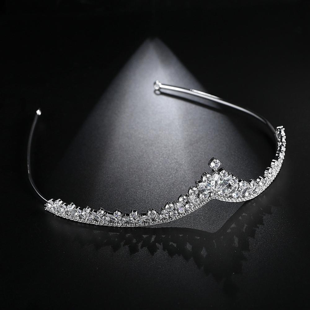 Haixng Luxuriöse Luxuriöse Luxuriöse Braut Hochzeit Mode Braut Krone, Krone, eingelegten Zirkon Haar Hoop B07FDGYV5Z Schultertaschen a222ac