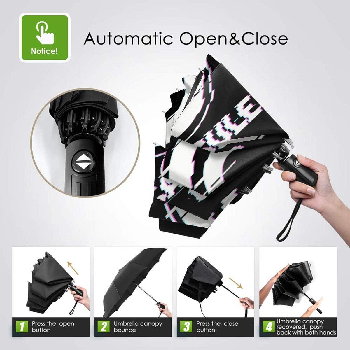 NOT Capsule Corp Automatic Tri-fold Umbrella