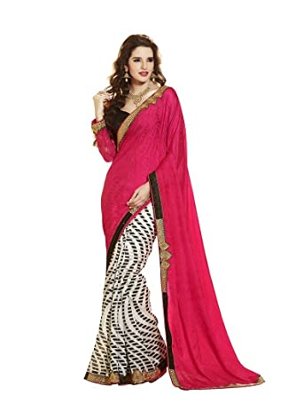 f9cfe28f75c475 Vipul Heavy Embroidery Half   Half Saree  Amazon.in  Clothing   Accessories