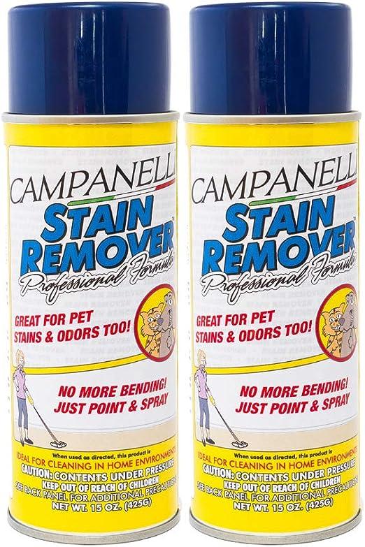 por Campanelli Professional Formula Removedor de Manchas [Aerosol] (2 Unidades): Amazon.es: Productos para mascotas