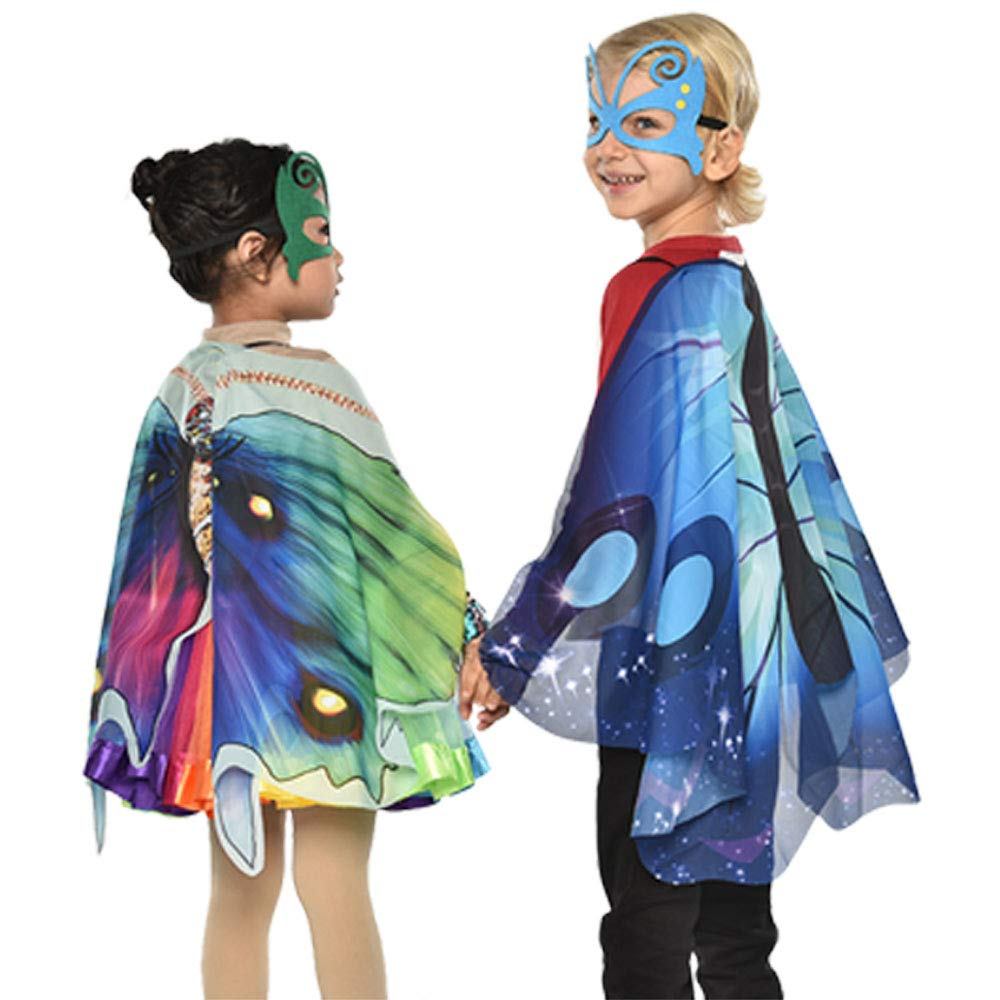Costumes & Accessories Special Butterfly Wing Mask Skirt Girls Carnival Dress Cosplay Miraculous Toys Children Day Costume Kid Animal Girl Fairy A Wide Selection Of Colours And Designs