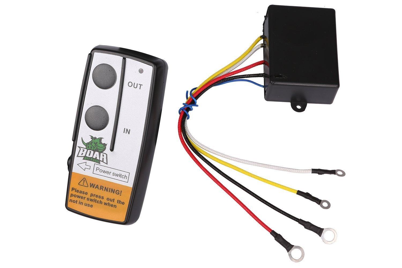 Offroad Boar Wireless Winch Remote Control Kit (Black)