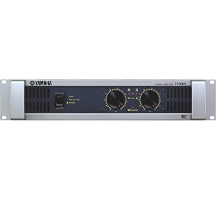 Yamaha P5000S | P Series 2-Channel Power Amplifier 750W X 2 at 4 Ohms