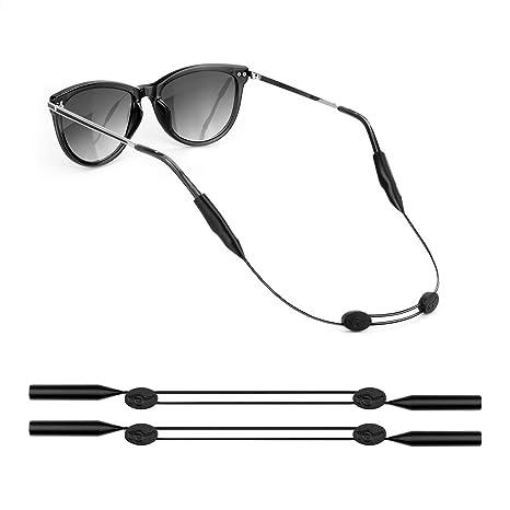 Amazon.com: YR Retenedor de gafas ajustable, correa para ...