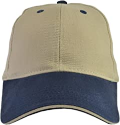 ATT HEADWEAR. 100% Cotton Hats (2 Pack) Adjustable and Stretch Fit (3  Colors) 921faf6d22c