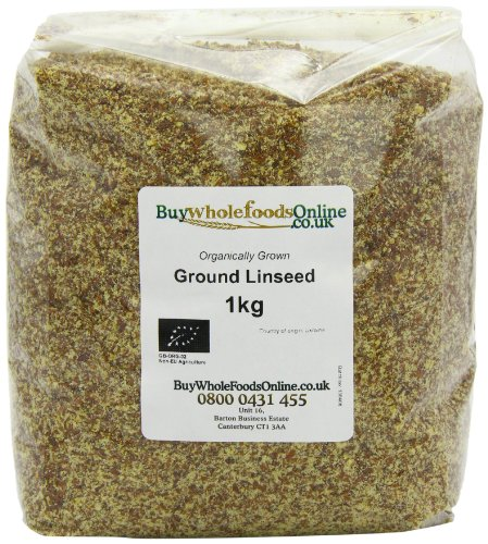 Buy Whole Foods Organic Ground Linseed 1 Kg by Buy