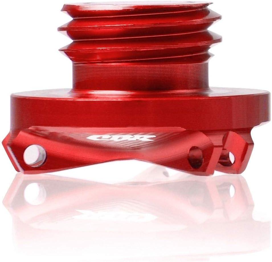 Color : Black Cubierta Perno de Tornillo for Honda CBR 250 150 600 929 954 RR CBR 650F 600RR Partes CBR1000RR Motocicleta Cubierta del Enchufe tap/ón de llenado Motor