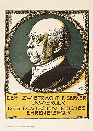 Magazine Jugend Stuck Otto Von Bismarck XXL Poster Wall Art Print