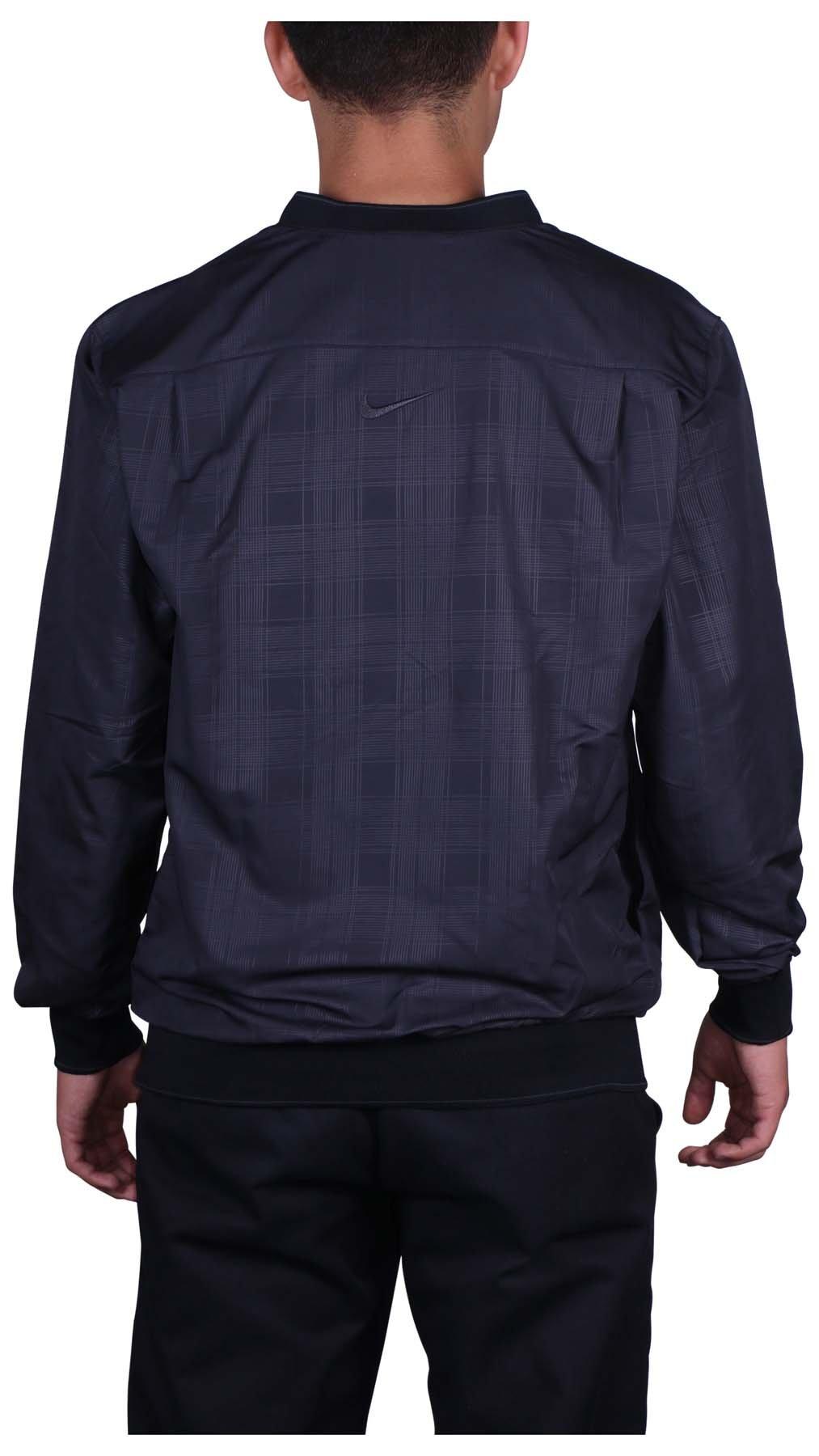 Nike Golf Men's Classic Half Zip Wind Jacket (Black, Small) by Nike Golf (Image #2)