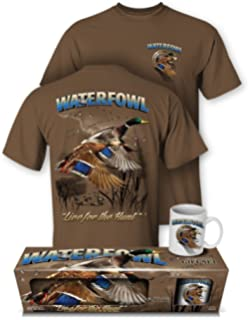 d2beb29591 Follow the Action Waterfowl (Duck) Hunting T-Shirt and Mug Premium Gift Set
