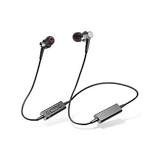 エレコム Bluetooth ブルートゥース イヤホン ワイヤレス 10.0mmドライバー [BASSブースト機能、シェアリング機能、自撮り機能、多彩な機能をワイヤレスで楽しめる] マイク付き Musicians Reference RH1000シリーズ ブラック LBT-RH1000XBK