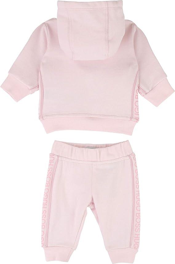 Ensemble pyjama bavoir coton BOSS BEBE COUCHE BLEU BLANC 3MOIS