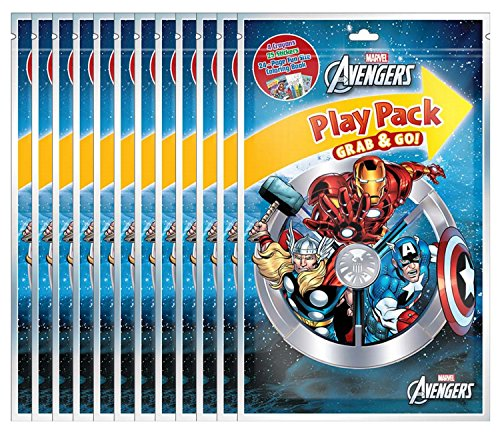 Marvel's Avengers Grab and Go Play Packs (Pack of 12)