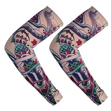 Mangas de tatuaje para hombre, mangas para el brazo ...