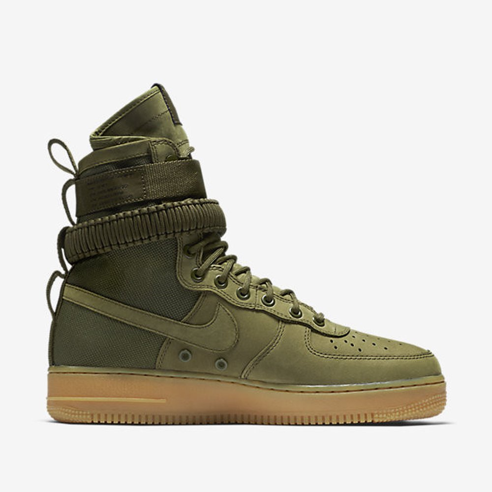 sale retailer 99878 f672a Nikes SPECIAL FIELD AIR FORCE 1 Medium Olive shoes (11 D(M)US)   6296133645254  Amazon.com  Books