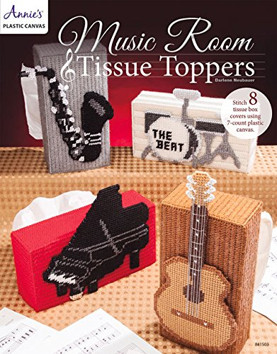 Plastic Canvas Tissue Covers (Music Room Tissue Toppers)